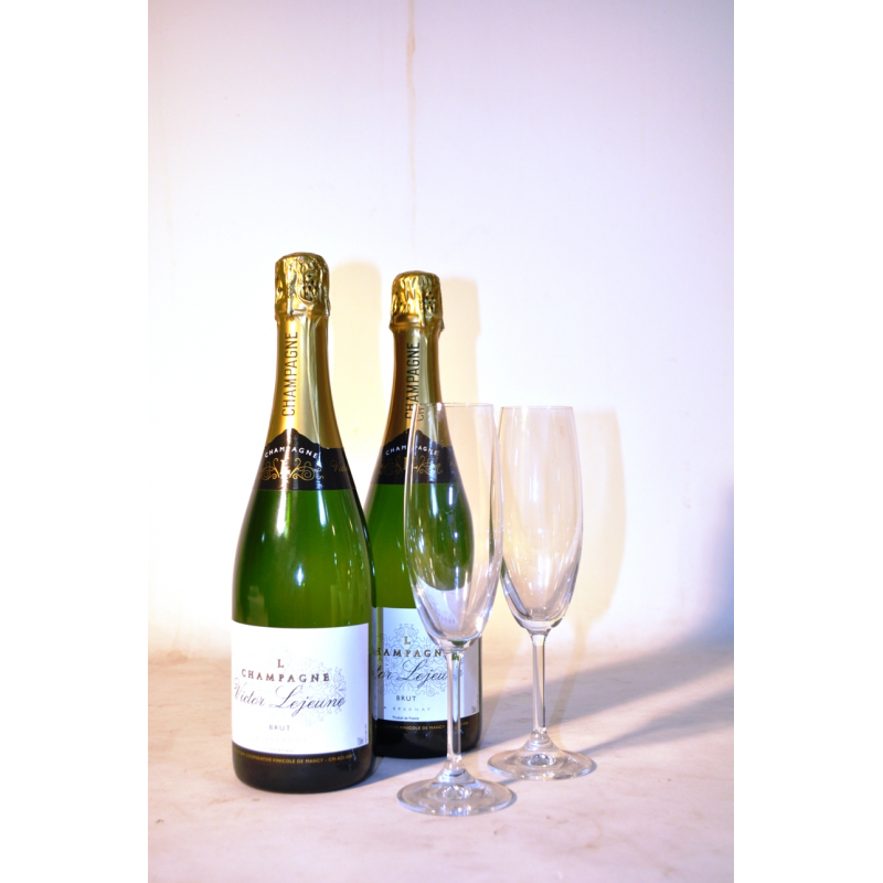 French champagne to Barcelona