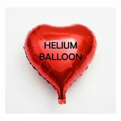 Romantic helium filled balloon