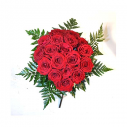 15 Red roses Flowers-to-Barcelona
