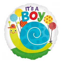 "Helium balloon ""It's a boy"""