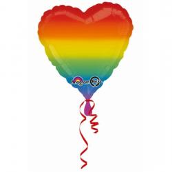 Globo helio arcoiris.